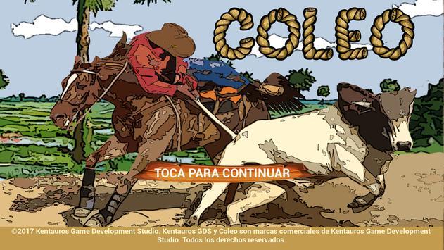 Coleo poster