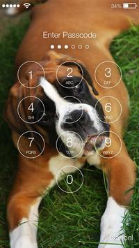 Boxer Dog Lock Screen apk screenshot
