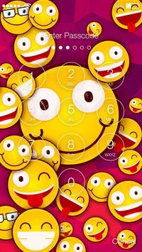Cute Emoji Smile  Screen Lock apk screenshot