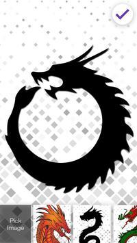 Dragon Awsome Screen Lock apk screenshot