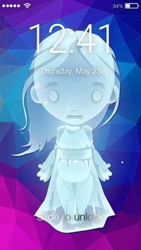 Ghost Paranormal Screen Lock poster