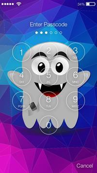 Ghost Paranormal Screen Lock screenshot 1