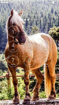 Horse PIN Screen Lock screenshot 1