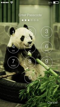 Panda Lock Screen Password apk screenshot