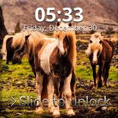 Pony Sensitive Screen Lock icon