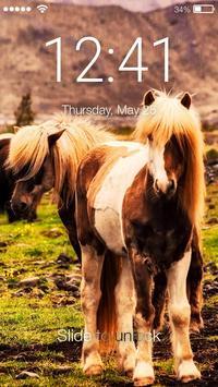 Pony Sensitive Screen Lock poster