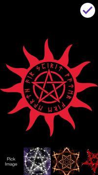 Satan Pentagram Lock Screen screenshot 2