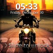 Sport Bike Love Lock Screen icon