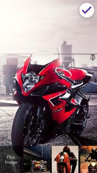 Sport Bike Love Lock Screen apk screenshot