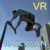 Rail Man VR icon