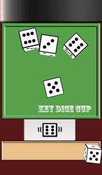 Key Dice Cup poster