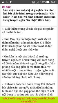 Van Mau ( Văn Mẫu - Văn Học Cấp 3 ) screenshot 4