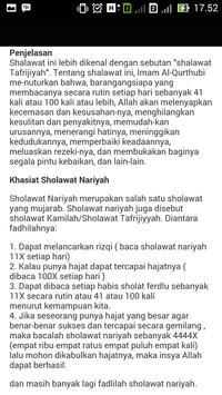 Fadhilah Amalan Sholawat screenshot 2