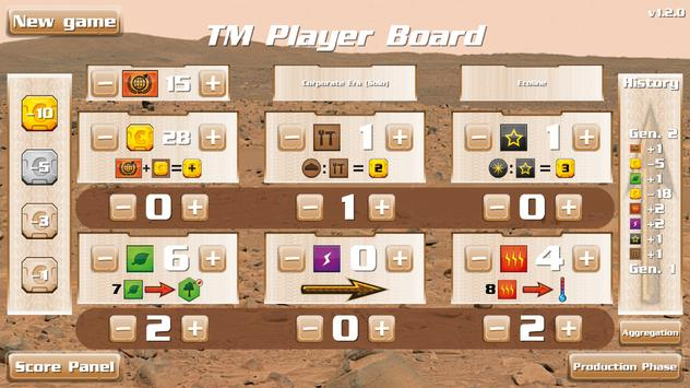 TM - Player Board Free screenshot 4