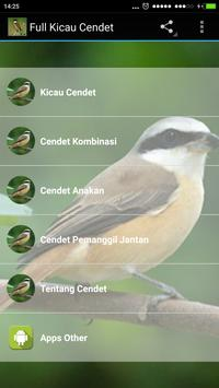 Full Kicau Burung Cendet screenshot 1
