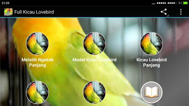 Full Kicau Burung Lovebird apk screenshot