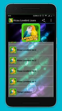 Lovebird Birds apk screenshot