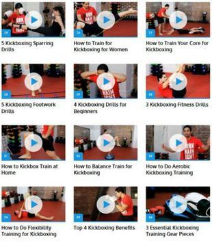 Kickboxing Techniques apk screenshot
