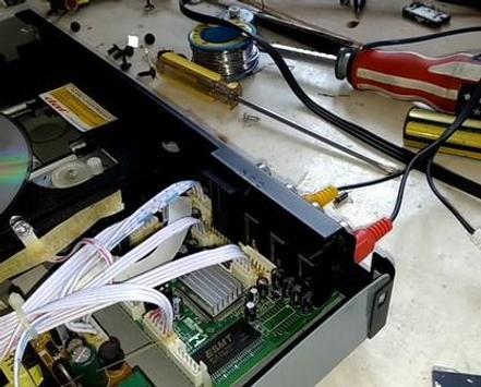 Servis DVD player screenshot 2