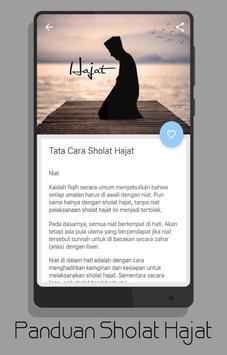 Panduan Sholat Hajat (Lengkap) screenshot 1