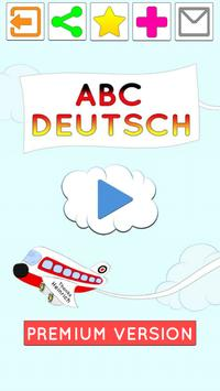 Deutsch -Spiel fur Kinder poster