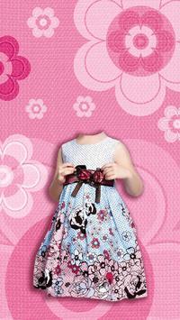 Kid Girl Fashion Photo Suit apk screenshot
