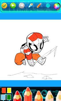 Kids Corloring Book SuperHero screenshot 5