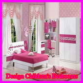 Design of a child's bedroom icon