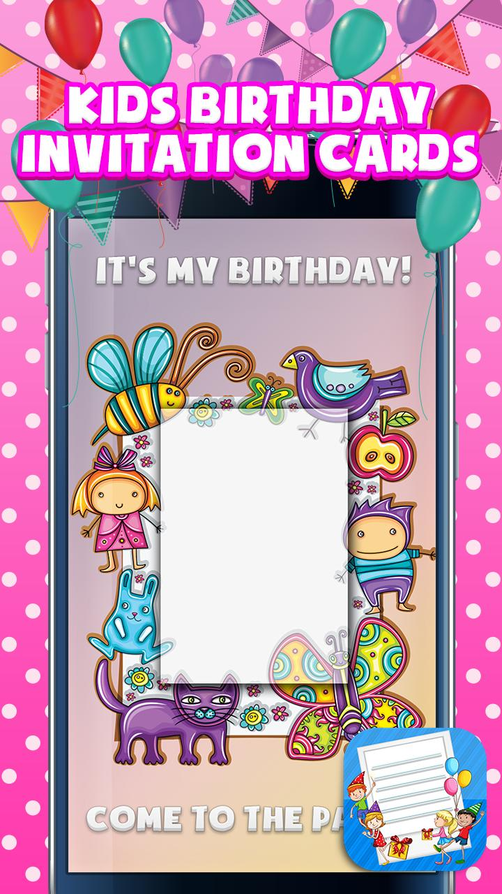 Anak Anak Undangan Ulang Tahun For Android Apk Download