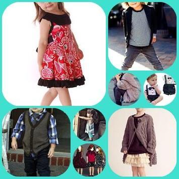 Kids Fashion Trend poster