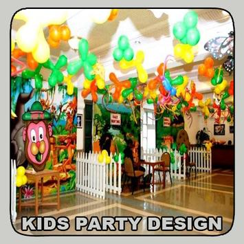 Kids Party Design poster