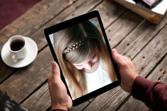 Kids School Hairstyles screenshot 9