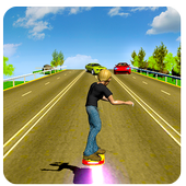 Hoverboard Racer icon
