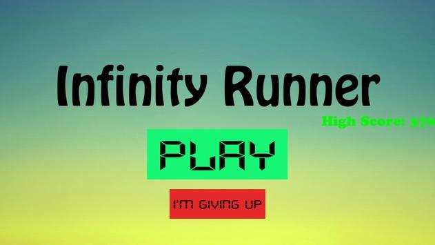 Infinity Runner poster