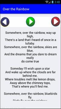 Judy Garland - Over The Rainbow screenshot 3