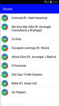 Ozuna Musica screenshot 2