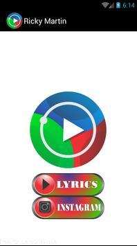 Ricky Martin Musica Letras screenshot 1