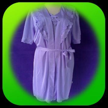 Kimono nightgown apk screenshot