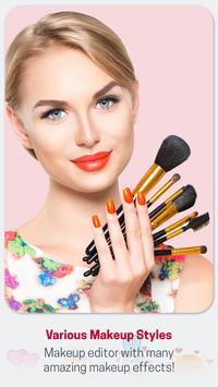 Beauty Makeup Photo Effect - Hairstyle  Salon poster