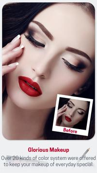 Beauty Makeup Photo Effect - Hairstyle  Salon screenshot 14