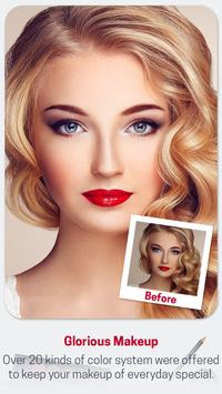 Beauty Makeup Photo Effect - Hairstyle  Salon screenshot 22