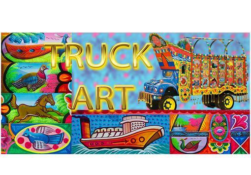Truck Art poster