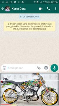 King Motor Raja Jalanan Keyboard screenshot 6