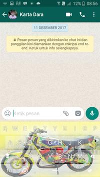 King Motor Raja Jalanan Keyboard screenshot 7