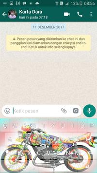 King Motor Raja Jalanan Keyboard screenshot 2