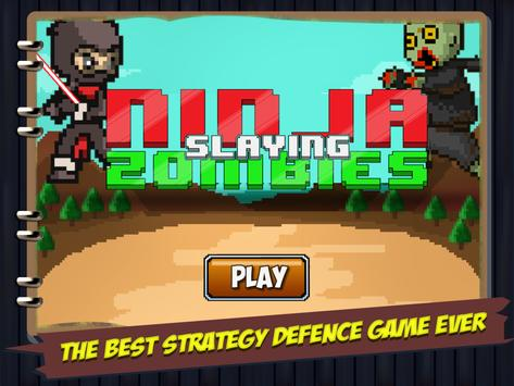 Ninja Slaying Zombies screenshot 4
