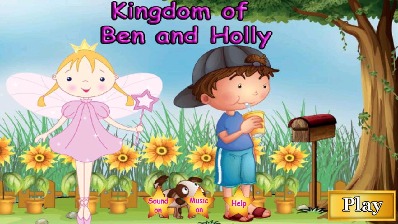 Kingdom of Ben and Holly poster
