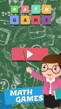 Math Games poster