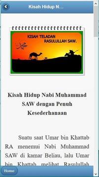KisahTeladan Rasulullah Muhammad SAW screenshot 1