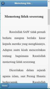 KisahTeladan Rasulullah Muhammad SAW screenshot 3